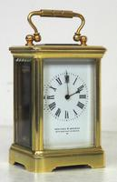 Antique Miniature 8 Day Carriage Clock by Walters & George Regent Street Rare (8 of 14)