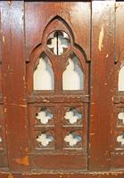 2 Lengths of 19th Century Gothic Arched Panelling (8 of 9)