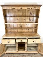 Antique Pine Farmhouse Kitchen Dresser (6 of 10)