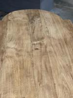 Large Rustic French Bleached Oak Farmhouse Dining Table (31 of 40)