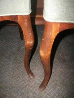Pair of Balloon Back, Cabriole Legged Chairs (3 of 3)