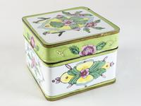 Antique Canton Painted Enamel Lidded Box (6 of 6)