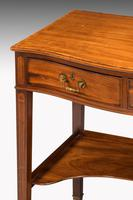 George III Period Mahogany Side Table of Very Small Proportions (3 of 5)