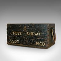 Antique Shipwright's Chest, English, Craftsman's Tool Trunk, Victorian, 1900 (3 of 12)