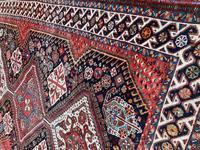Antique Qashqai Rug 1.47m x 1.04m (4 of 17)