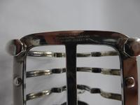 Good Quality Antique Silver Toast Rack London 1905 (3 of 5)