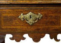 Queen Anne Oak Lowboy c1715 (5 of 8)