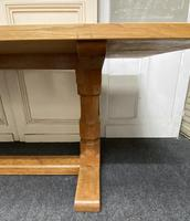 Oak Farmhouse Refectory Dining Table (17 of 17)