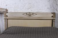 Lovely Original Painted French King Size Bed (5 of 8)