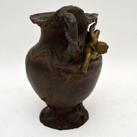 French Antique Art Nouveau Bronze Urn (4 of 10)