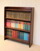 Solid Oak Graduated Bookshelves (8 of 10)