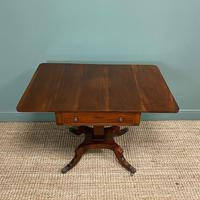 Beautiful Victorian Mahogany Antique Sofa Table (4 of 8)