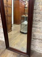 Antique Mahogany Large Mirror (4 of 4)