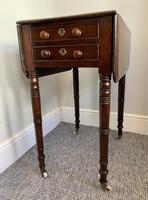 Victorian Mahogany Drop Flap Work Table (4 of 18)