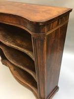 Early Victorian Rosewood Bookcase (3 of 11)