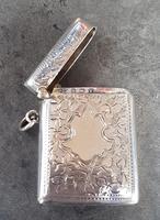 Sterling Silver Vesta Case - 1920 (3 of 4)