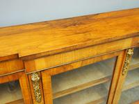 Victorian Walnut Breakfront Credenza (5 of 13)