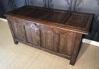 18th Century Oak Coffer (7 of 13)