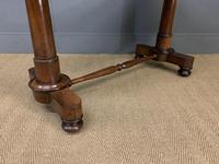 Good William IV Rosewood Library Stretcher Table (2 of 12)