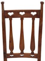 Set of 8  Mahogany Art Nouveau Dining Chairs C1910 (5 of 6)