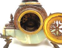 Incredible Art Nouveau Dancing Figural Mantel Clock 8 Day Striking Mantle (11 of 11)