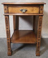 Pair of Burr Walnut End Tables Iain James Fine Furniture (8 of 9)