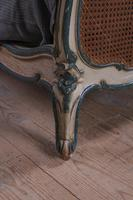 Art Nouveau Style French Caned / Bergere King Size Bed (7 of 9)