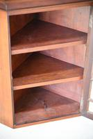 Small Antique Astragal Wall Hanging Cabinet (5 of 11)
