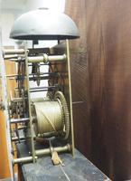 18th Century Longcase Clock Fine English Oak Ashford Grandfather Clock Painted Dial c.1757 (4 of 12)