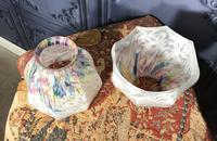 Pair of Edwardian Glass Light Shades (4 of 5)
