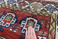 Antique Shassavan long rug 382x126cm (6 of 9)