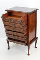 Edwardian Inlaid Mahogany Music Cabinet, George Laird & Son Glasgow (7 of 13)