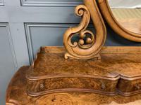 Victorian Period Burr Walnut Duchess Dressing Table (7 of 18)