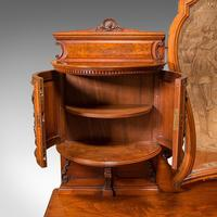 Fine Antique Dressing Table, English, Walnut - Gillow & Co, Victorian (9 of 12)