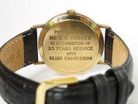 Gents 9ct Gold Marvin Revue Wrist Watch (3 of 4)