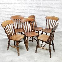 6x Windsor Slatback Kitchen Chairs (5 of 7)