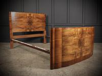 Art Deco Walnut Standard Double Bed (5 of 11)