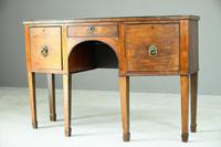 Antique Bow Front Sideboard (5 of 11)