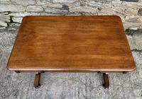 Antique Regency Mahogany Library Table (12 of 14)
