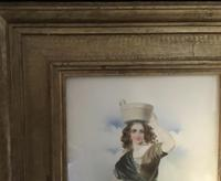 Victorian Watercolour of a Young Lady. (8 of 9)