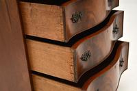 Antique Mahogany Serpentine Chest on Chest (12 of 12)
