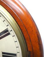 Antique Original Dial Wall Clock Rare Striking Station Public Dial Wall Clock (4 of 10)