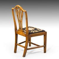 Very Good Set of Six George III Period Hepplewhite Mahogany Framed Single Chairs (5 of 7)