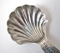 Exceptional George III Silver Caddy Spoon Thomas Watson Newcastle c.1800 (3 of 8)
