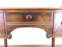 Antique Victorian Mahogany Ladies Writing Desk (10 of 17)