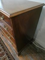 Small Early 20th Century Mahogany Chest of Drawers (5 of 10)