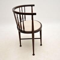 Antique Edwardian Mahogany Tub Chair (9 of 10)