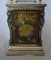 French Caryatids Repeating Carriage Clock (3 of 7)