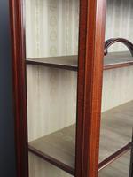 Antique Sheraton Style Inlaid Mahogany Display Cabinet (9 of 18)