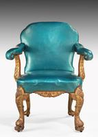 Pair of 19th Century Giltwood Armchairs by Morant & Co (6 of 8)